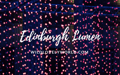 edinburgh lumen lights festival 2018 art festival scotland