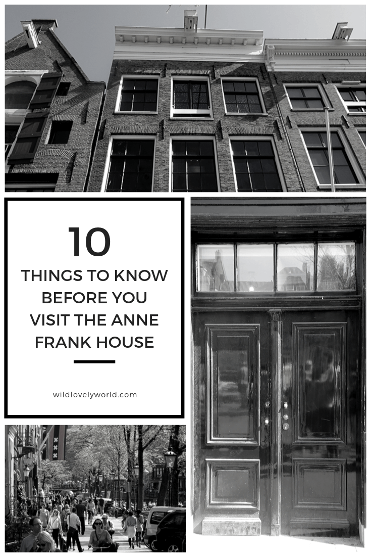 anne frank house what to know before you go