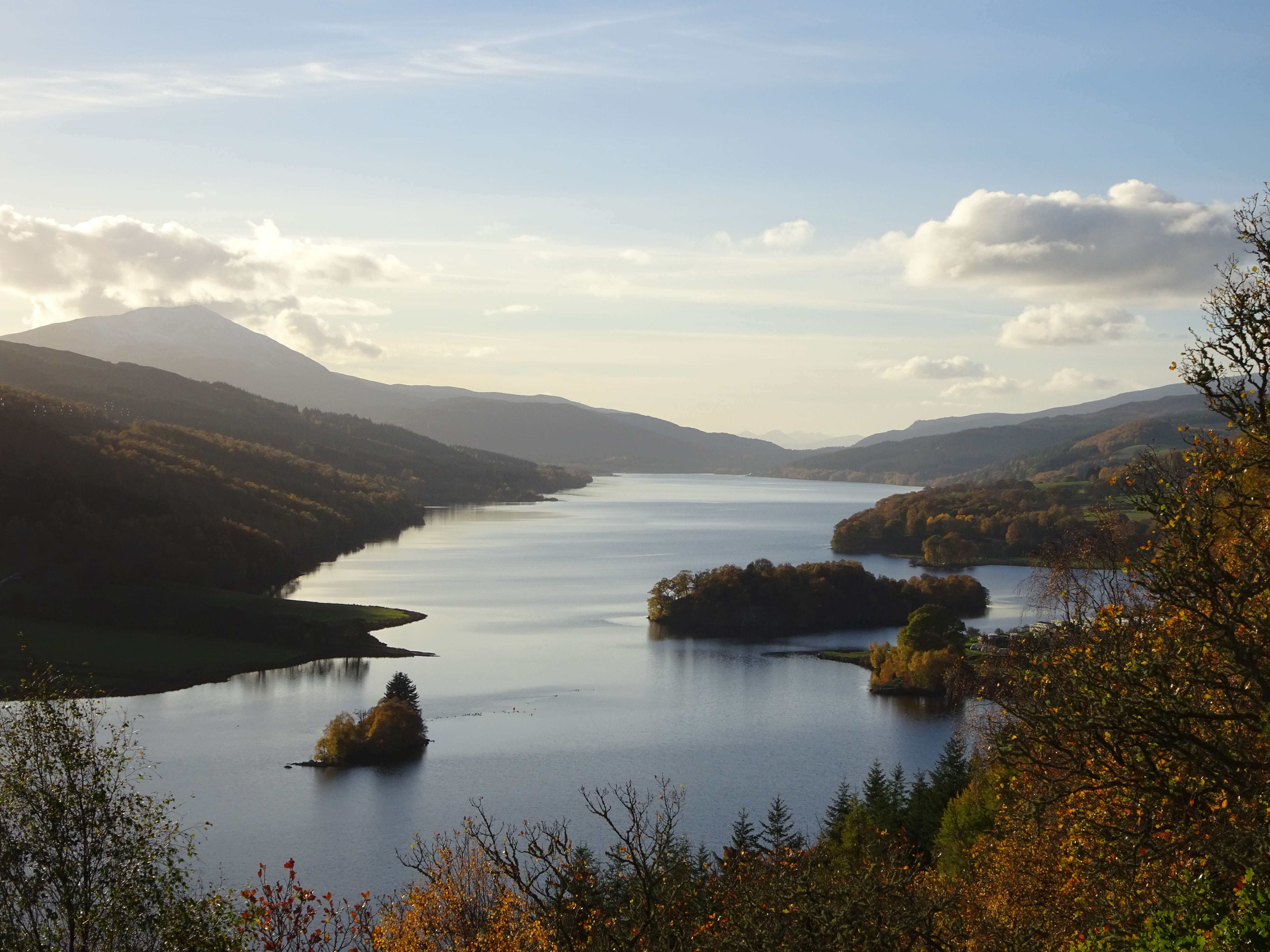 Queen's View Pitlochry Perthshire